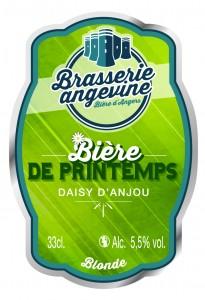 108 Bière de printemps Daisy d'Anjou